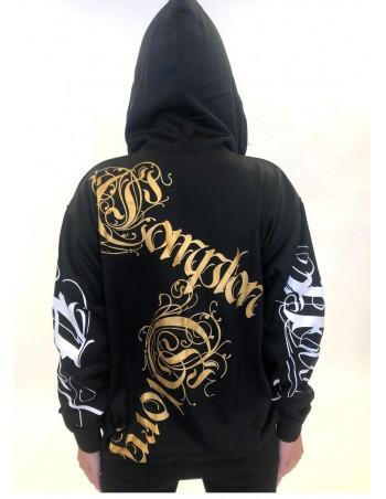 BSAT Compton Glory ZipHoodie Black