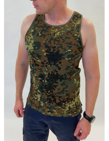 Camo Tank Top Flecktarn