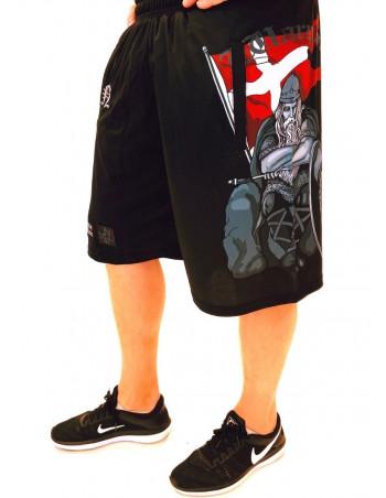 Holger Danske Mesh Shorts Black by Nordic Nation