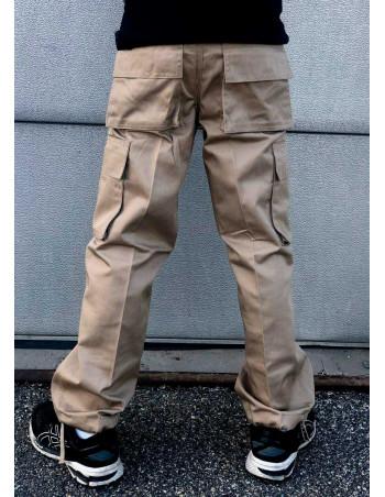 Kids Cargo Pants Khaki by Access Apparel