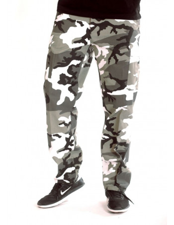 Urban Camo Cargo Pants Regular Fit by Tech wear