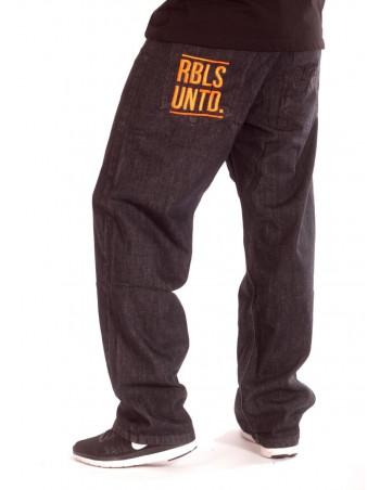 Plain Rbls Untd JeansBlackNOrange