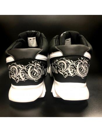 Urban Glory Race Sneakers BlackNWhite