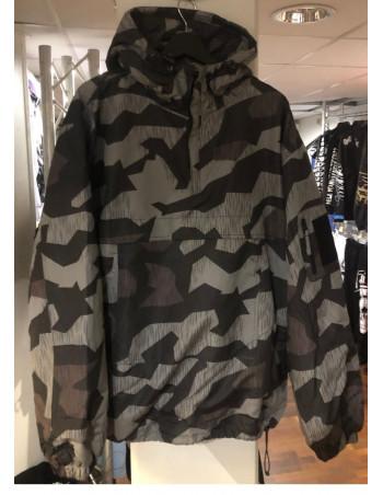 Tech Wear Anorak Winter Jacket Dark Camo