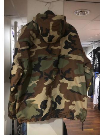Tech Wear Anorak Winter Jacket Woodland