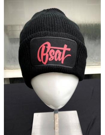 BSAT Logo Beanie BlackNRed