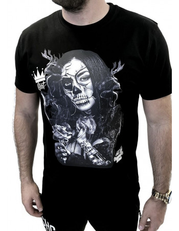 Chica Day of the Dead T-Shirt by BSAT
