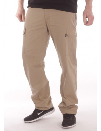 BSAT Regular Fit Combat Cargo Pants Beige