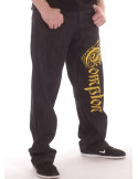 Compton Jeans BlackNGold Baggy by BSAT