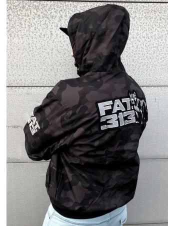 FAT313 Winter Jacket Dark Camo