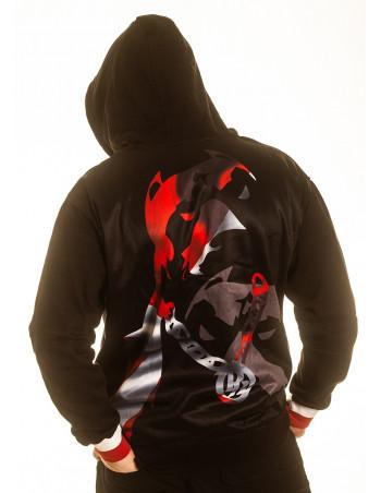 Pitbos DK Legacy ZipHoodie Black