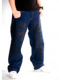 Darkness Street Art Jeans Baggy by BSAT