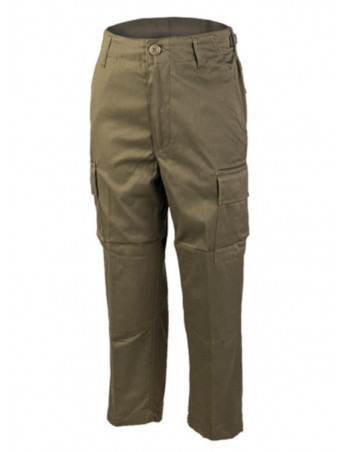 Kids Cargo Pants Olive