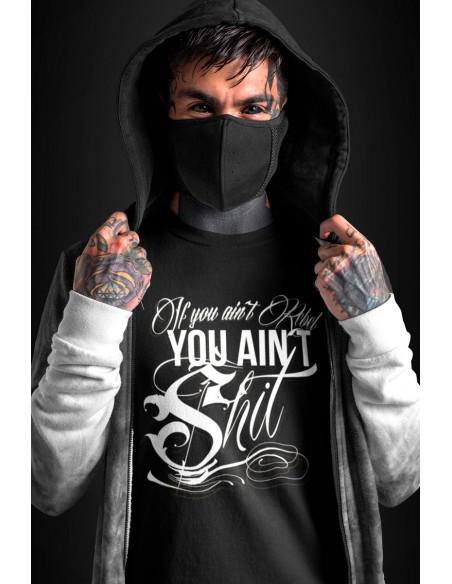 IF You Ain't Rebel T-Shirt Black