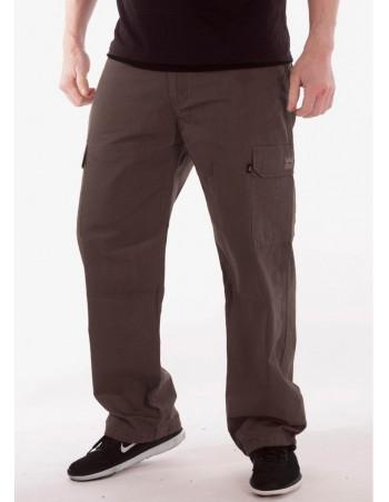 BSAT Combat Cargo Pants Cedar Grey Baggy Fit