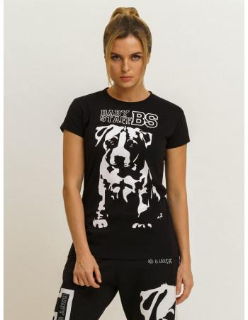 Babystaff Puppy T-Shirt Black