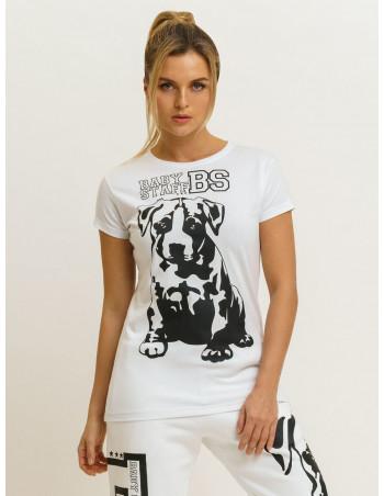 Babystaff Puppy T-Shirt White