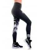 Cali Skull Leggings Black by BSAT