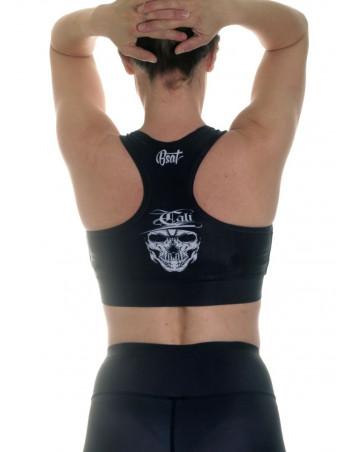 Cali Skull Top Black by BSAT