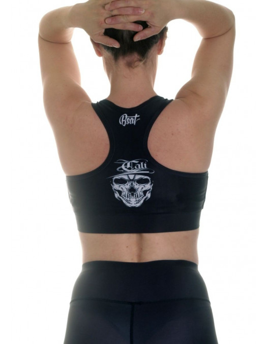 Cali Skull Top Black by BSAT