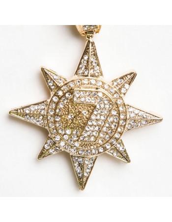 Golden 7 Star vedhæng