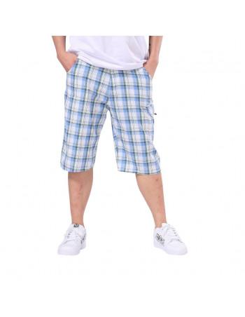 Miami Plaid Shorts med bælte