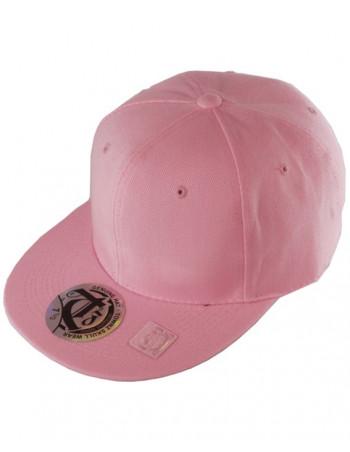 Townz Visor Flat Cap pink