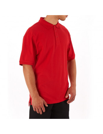 Access Plain Polo Red