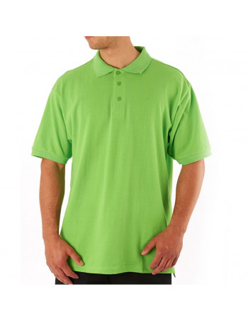 Access Plain Polo Apple Green