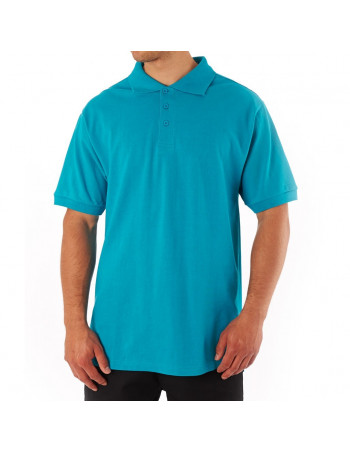 Access Plain Polo Aqua