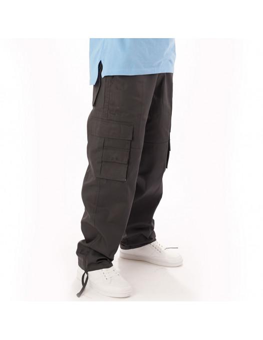 Access Premium Cargo Pants Dark Grey