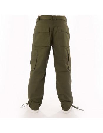 Access Premium Cargo Pants Olive