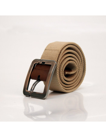 Escobar Canvas Belt Beige