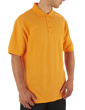 Access Plain Polo Orange