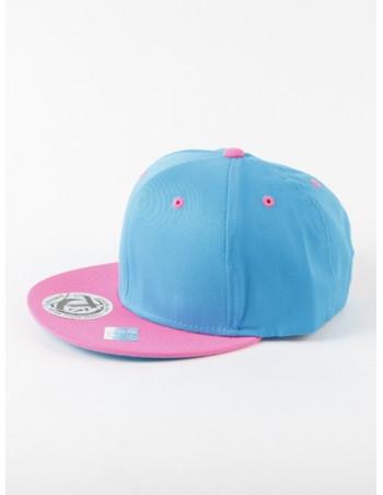 Townz Snapback Cap aqua/ pink