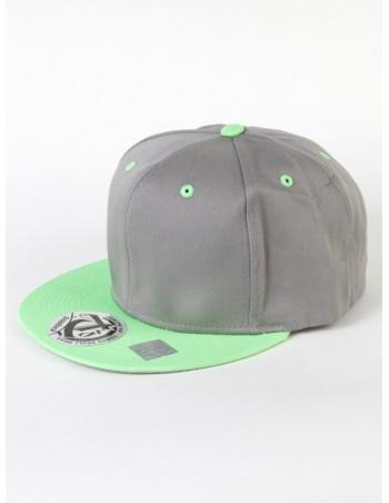 Townz Snapback Cap grey/ green