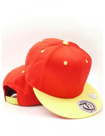 Townz Snapback Cap red/ yellow