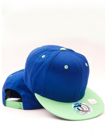 Townz Snapback Cap royal/ green