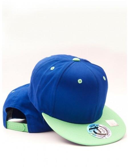 Townz Snapback Cap royal/ green