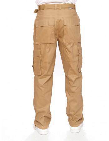 Access Premium Cargo Pants Khaki
