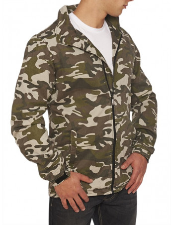 Escobar Crew Camo Jacket