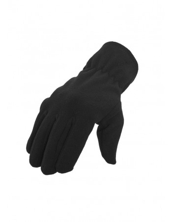 Urban Classics Polarfleece Gloves black