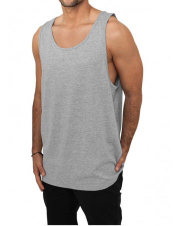Urban Classics Jersey Big Tank heather grey