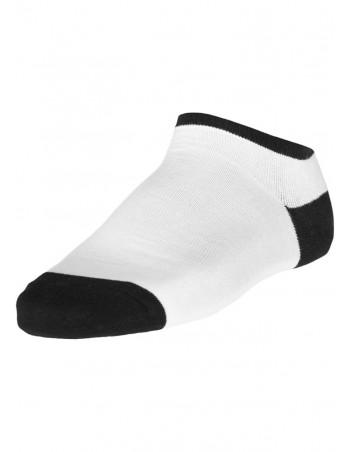 Urban Classics Contrast Sneaker Socks wht/blk