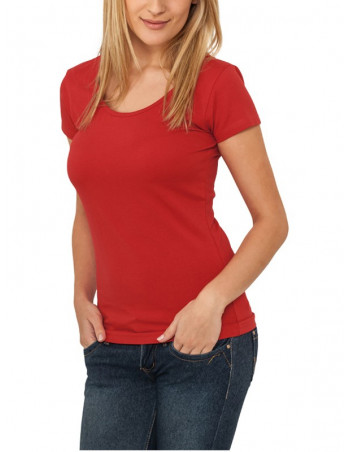 Urban Classics Ladies Basic Tee red