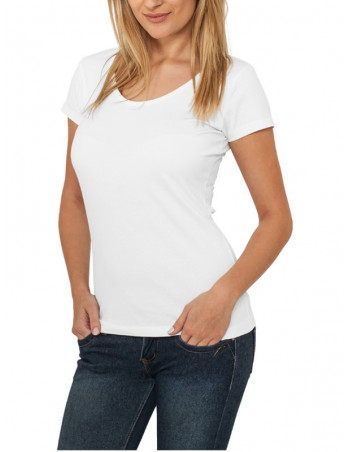 Urban Classics Ladies Basic Tee white