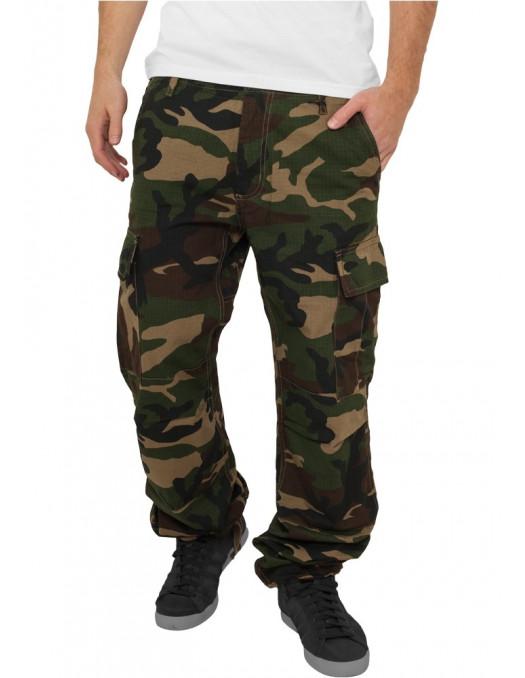 Urban Camouflage Cargo Pants Woodland