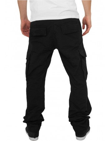 Urban Camouflage Cargo Pants Black