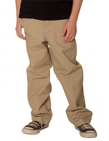 Kids Access Work Pants Chino Khaki