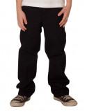Kids Access Work Pants Chino Black